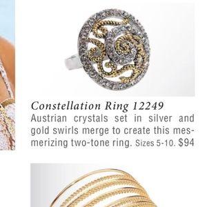 4dbf6430e Park Lane Jewelry - Park Lane Constellation Ring - Swarovski , sz 8